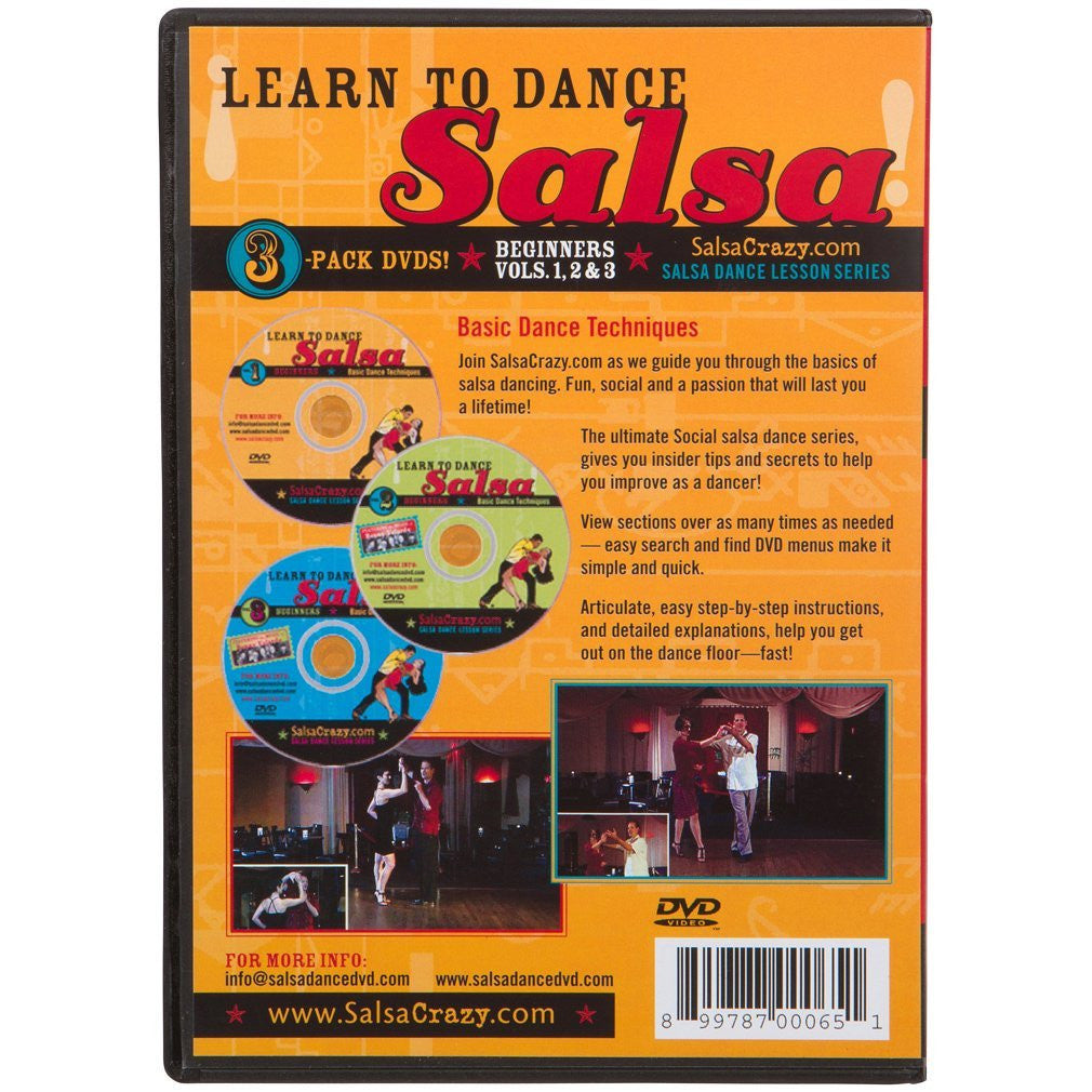 Beginners Salsa Dance 3 Pack