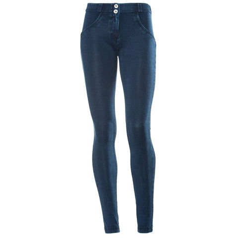 WR.UP® SKINNY - SHAPING DENIM EFFECT - DARK BLUE J0B - MID WAIST