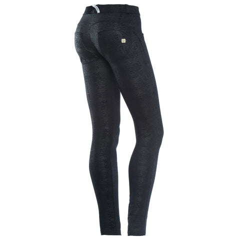 WR.UP® SKINNY - EVOLUTION - BLACK N - MID WAIST