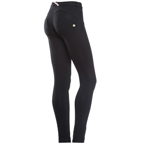 WR.UP® SKINNY - SHAPING EFFECT - BLACK N - MID WAIST