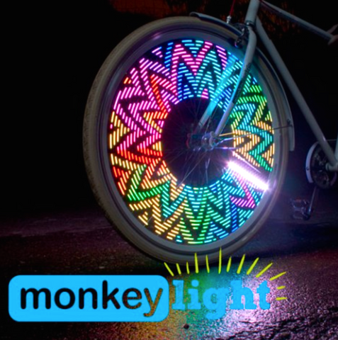 Leds para rueda de bicicleta Monkey Light M232