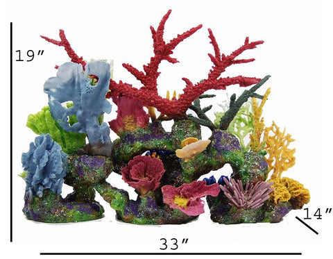 "Artificial coral Plug & Play ""Barbados"" base insert"