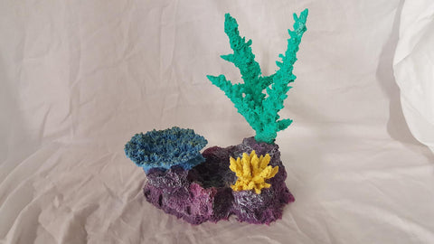 Artificial coral insert aquarium decoration