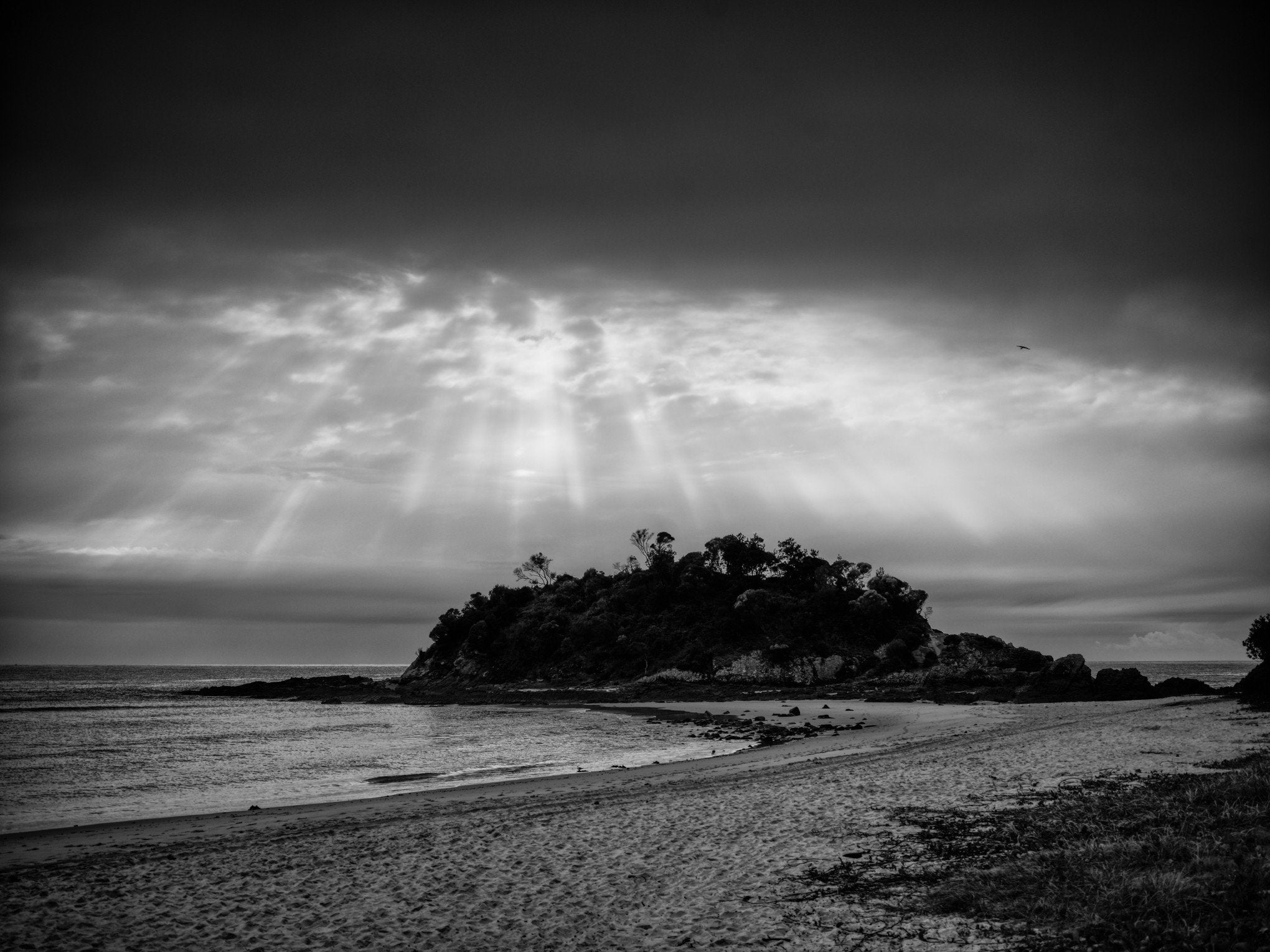 Seal Rocks, Number One Beach Storm - Johnnyshoots- Fine Art Prints & Photography