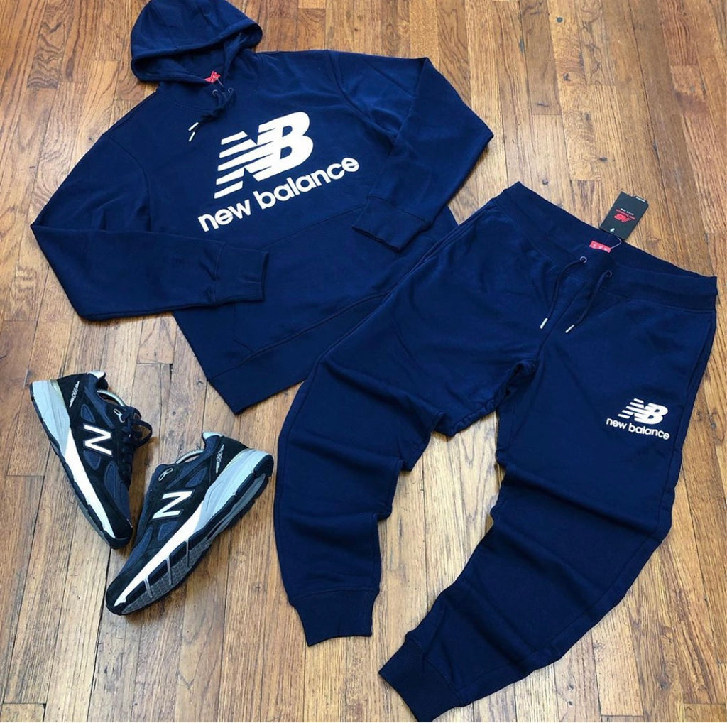 NEW BALANCE SWEATSUIT NAVY