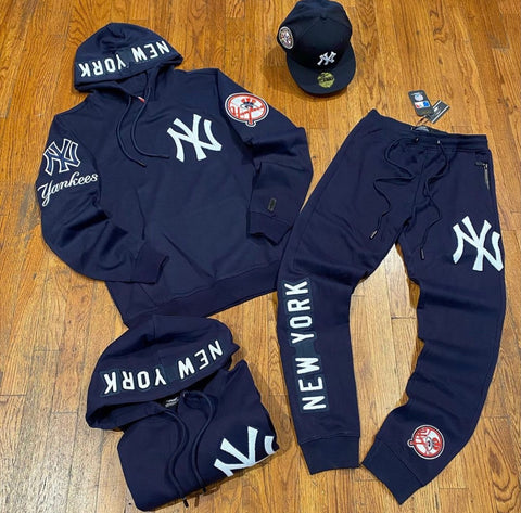 NEW YORK YANKEES EMBROIDERED SWEATSUIT
