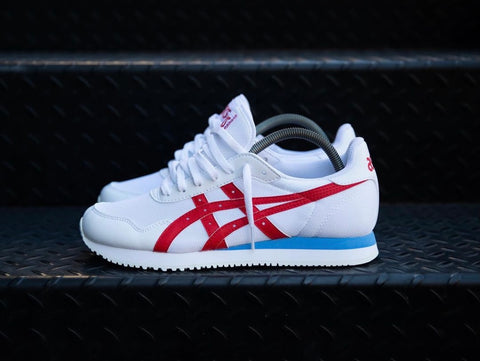 ASICS CLASSIC WHITE RED