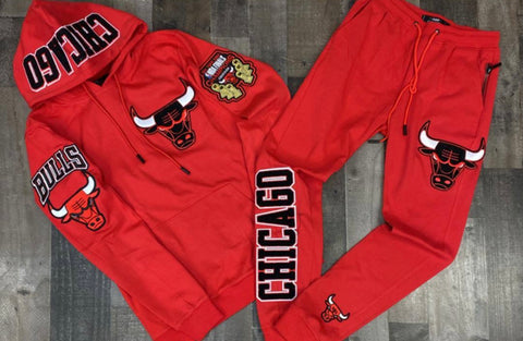 CHICAGO BULLS SWEATSUIT EMBROIDERED