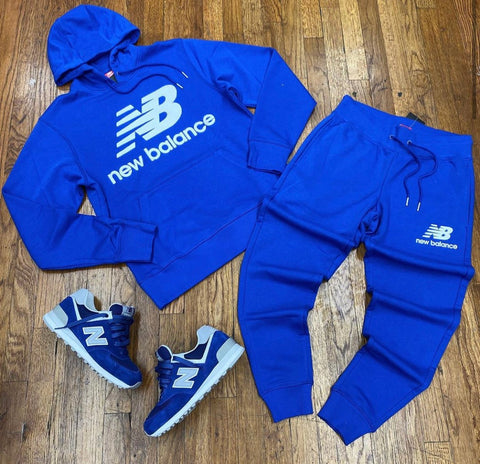 NEW BALANCE SWEATSUIT BLUE