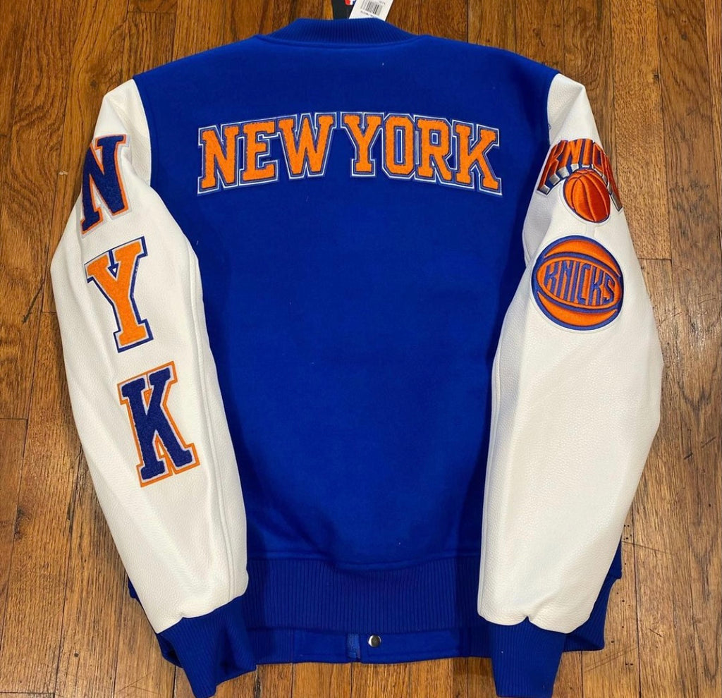 NEW YORK KNICKS EMBROIDERED JACKET