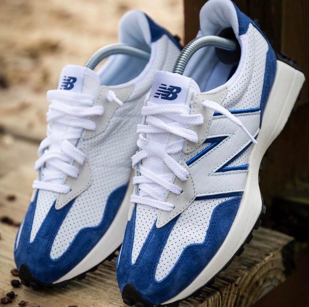 NEW BALANCE ORIGINAL  WHITE BLUE