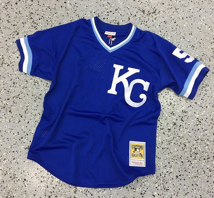 KANSAS CITY ROYALS BASEBALL JERSEY