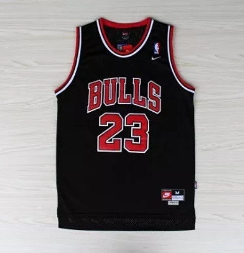 MICHAEL JORDAN BLACK SWINGMAN JERSEY