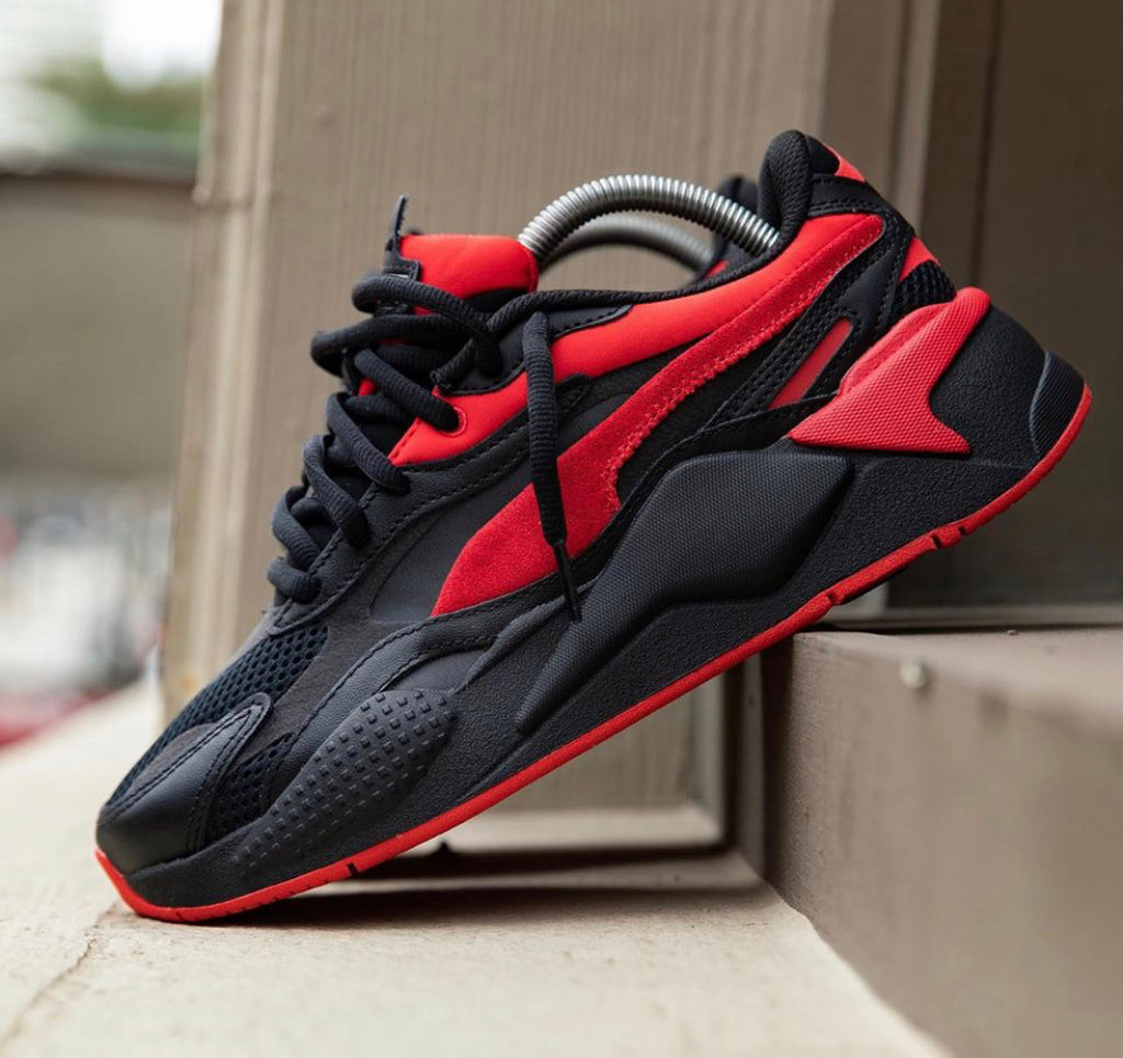 PUMA SNEAKERS RED BLACK