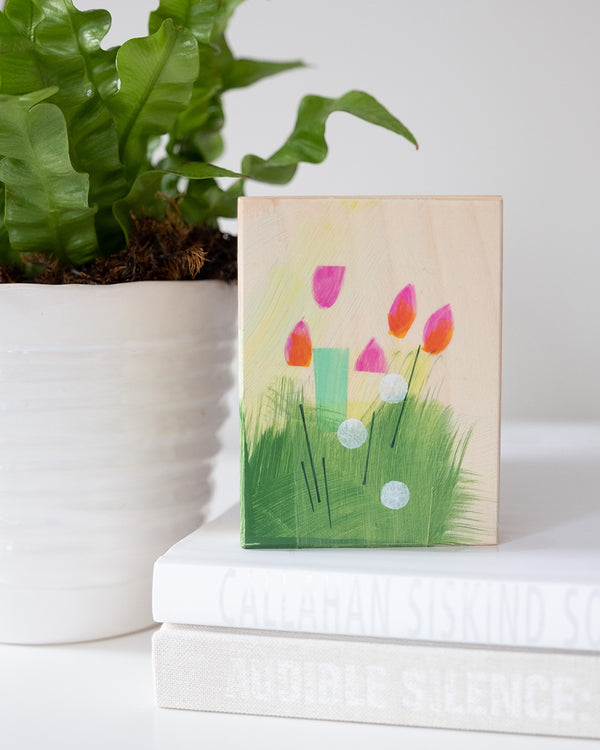 New Paintings: Small Garden Paintings Are Here