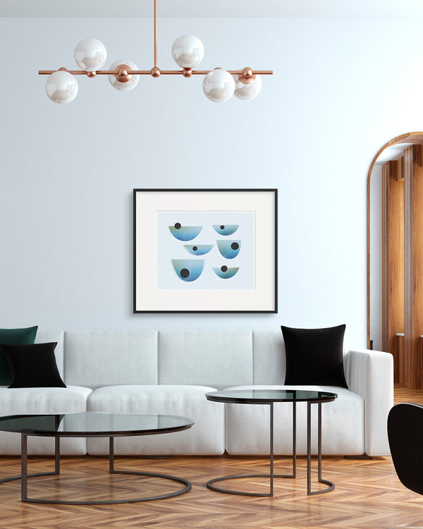 Statement-sized Drift Print by Household Art | Janet Taylor.