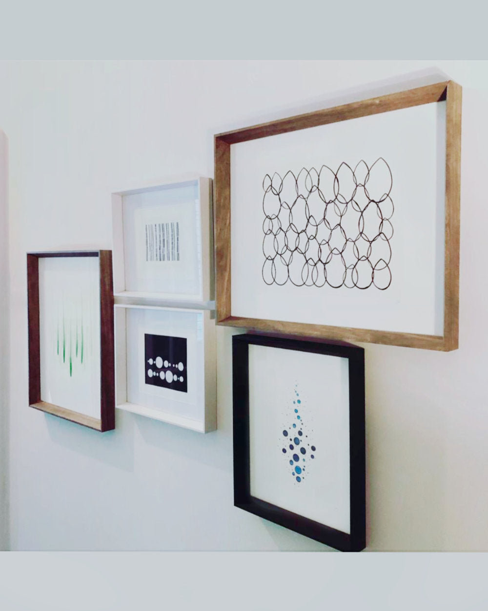 Gallery Wall of Household Art Prints