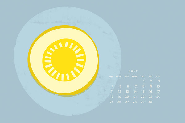 June Calendars Are Here: Let The Summer Begin