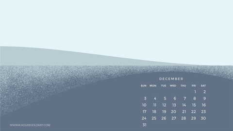 December Screen Wallpaper