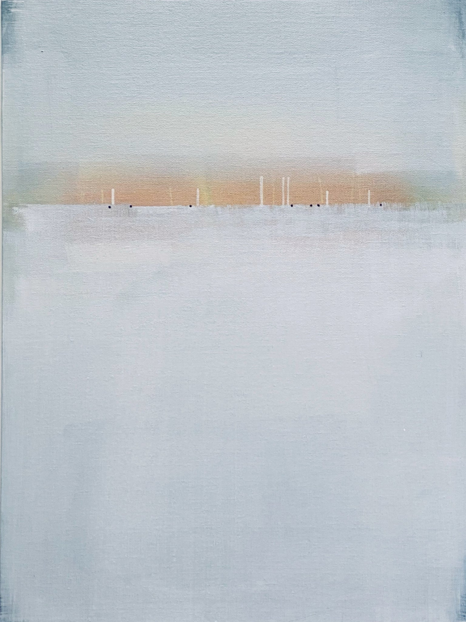 Day 4/100 Painting by Janet Taylor.