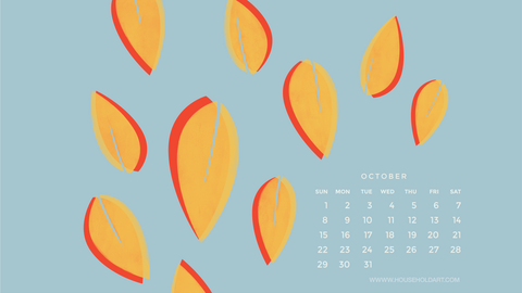 October Screen Wallpaper