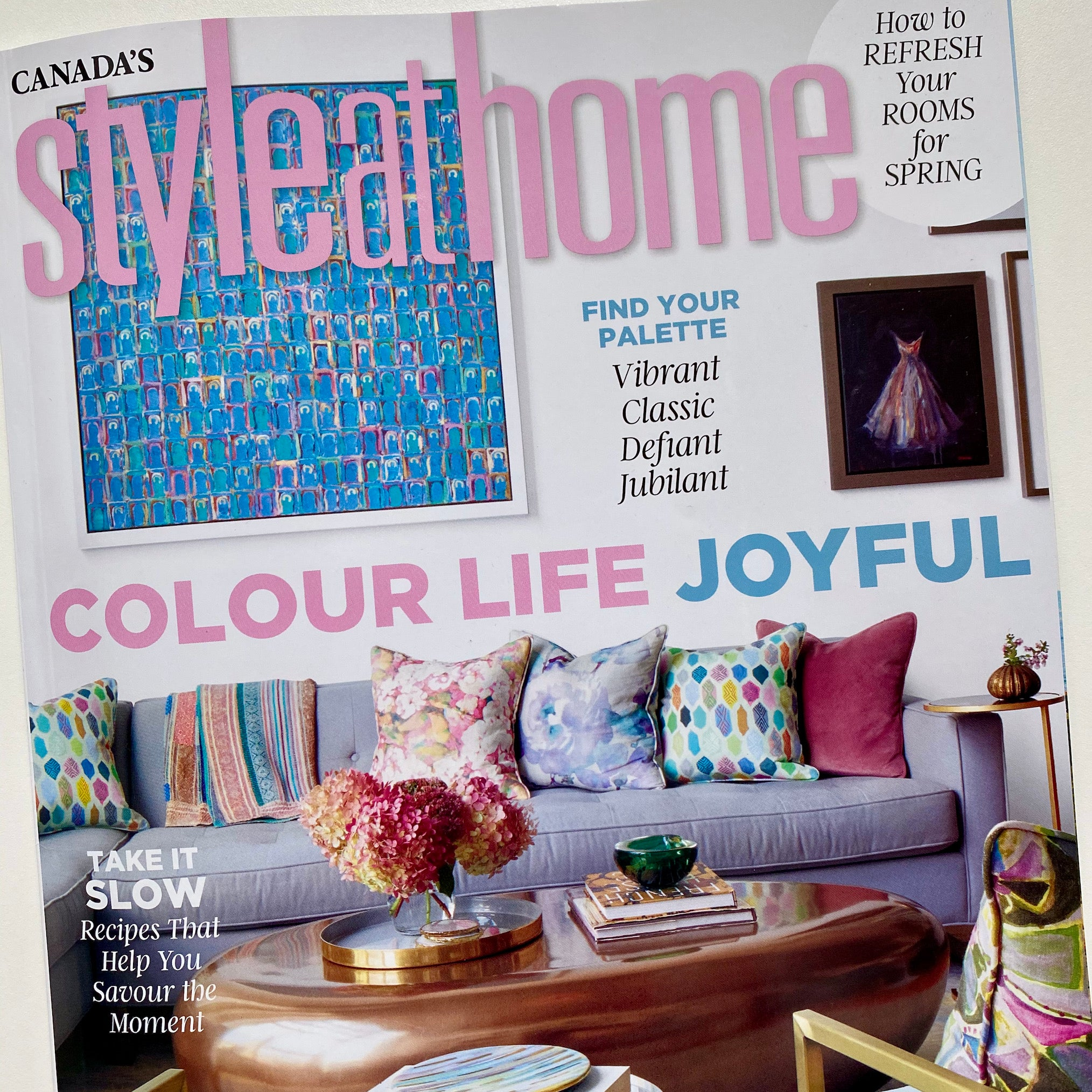 Style At Home April 2021 Cover