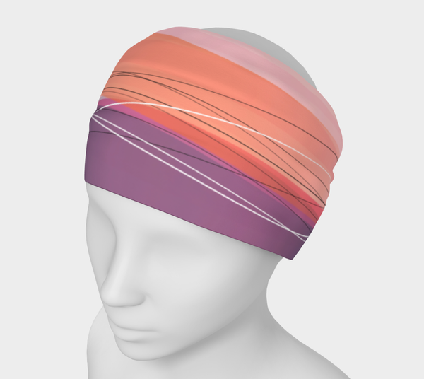 Versatile Headband–Wave Dawn
