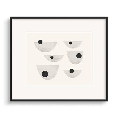 Black framed image of Drift Graphic Print by Janet Taylor | Household Art.
