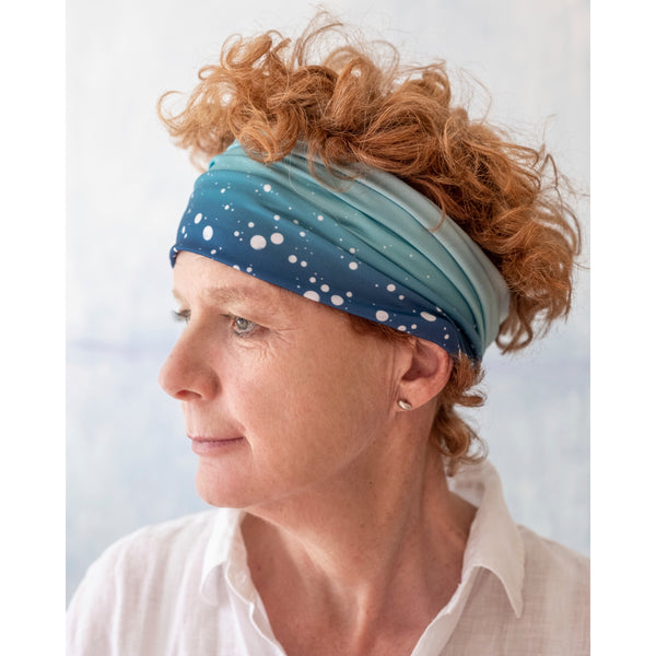 Versatile Headband–Spray Sea