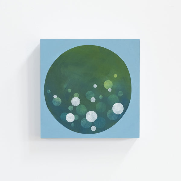 Abstract acrylic painting  from the Water + Light series by Janet Taylor | Household Art.