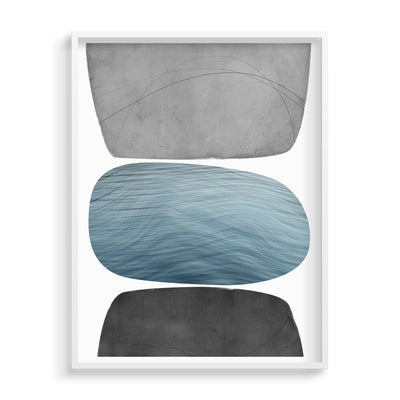 Shores Limited Edition Framed Fine Art Print by Janet Taylor | Household Art.