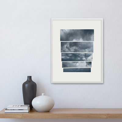 Fine art print 'Portent', by Janet Taylor | Household Art, framed on a wall.