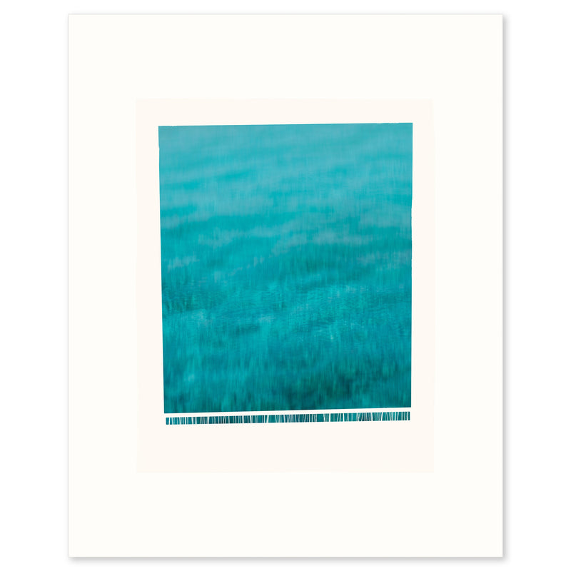 "Fine Art Print ""Wave"", A wave crashing down, frothing at the bottom, by Janet Taylor 