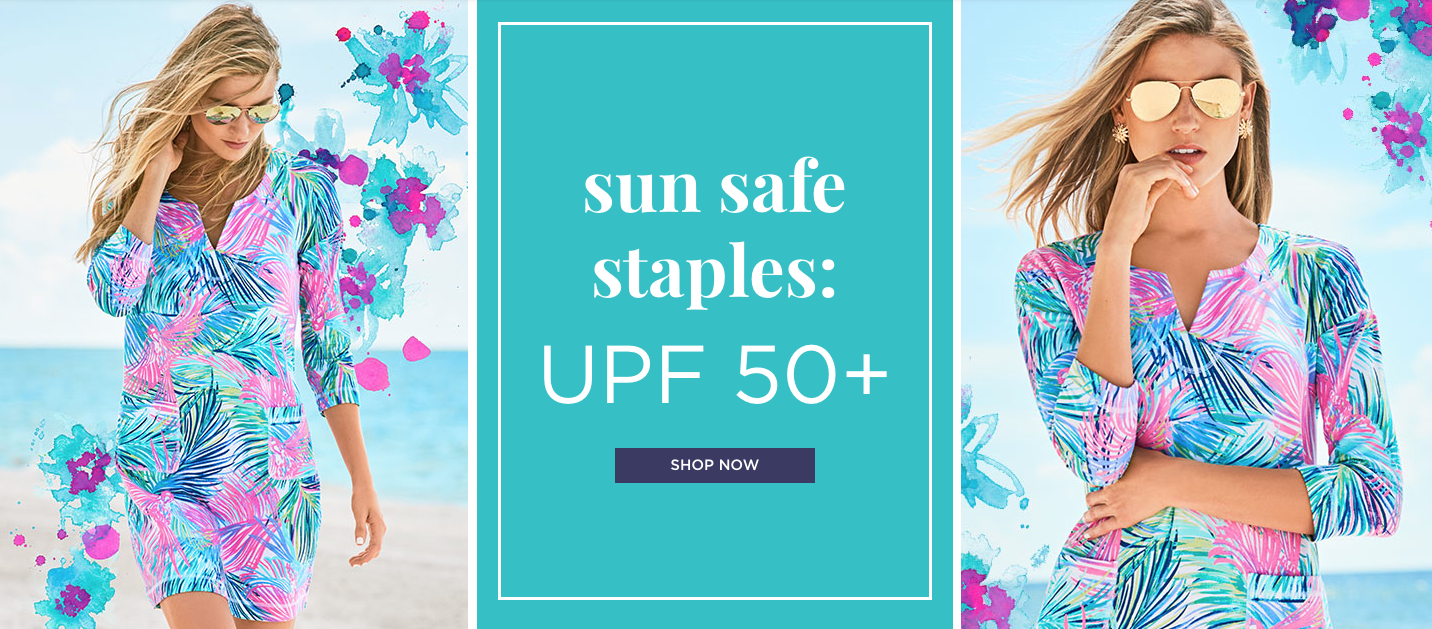 UPF 50+ protection styles