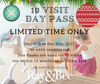 *LIMITED TIME ONLY* 10 Visit Day Pass