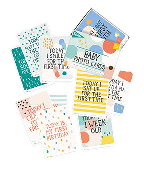 Baby Milestone Cards: Limited Edition Cotton Candy