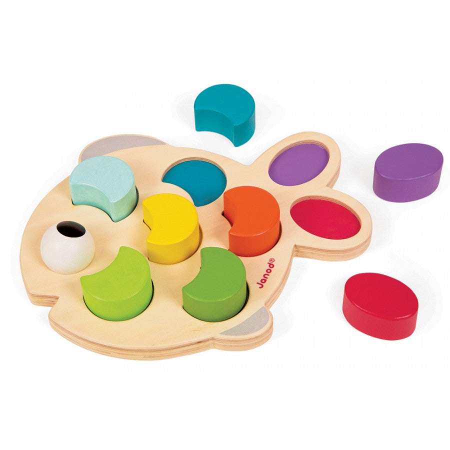 Janod Fish Shape Sorting Puzzle