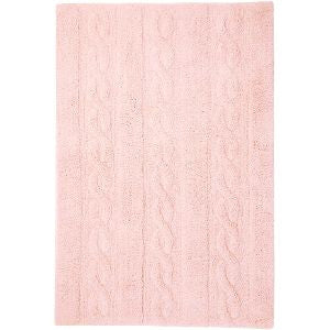 Lorena Canals Braids Soft Pink Washable Rug