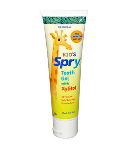 Banana Brush Xlear Spry Tooth Gel with Xylitol