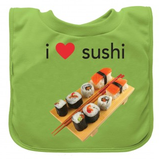 Favorite Food Absorbent Bib