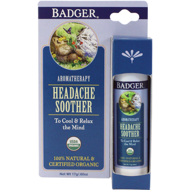 Badger Headache Soother Aromatherapy Balm