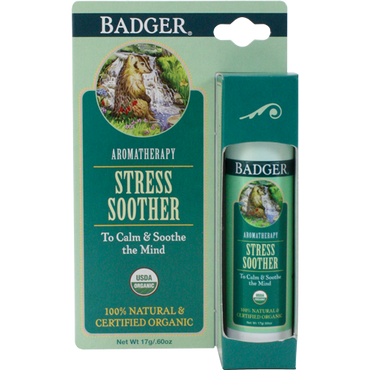 Badger Stress Soother Aromatherapy Stick