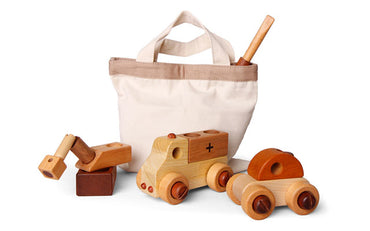 Beyond 123 - Wooden Cars with Tool Kit