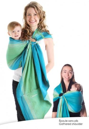 10 Day Pass + Chimparoo Ring Sling - Lime