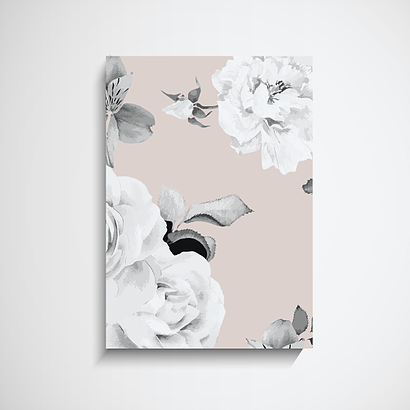 Soft Rose Premium Art Print