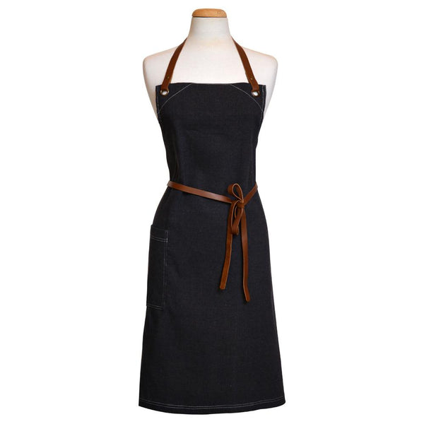 ODE Apron - Black Denim