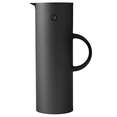 1L Vacuum Jug Soft Black