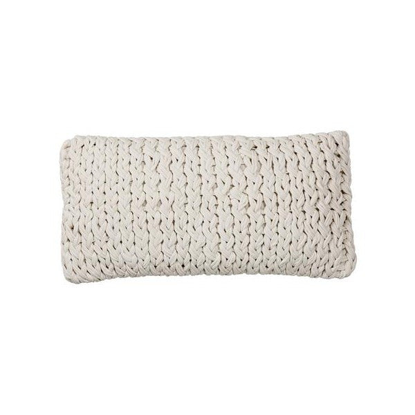 Knitted Cotton Cushion