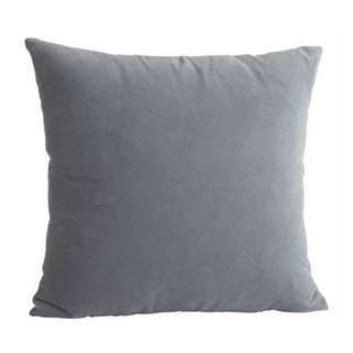 Velvet Cushion Cover - Aqua Sea