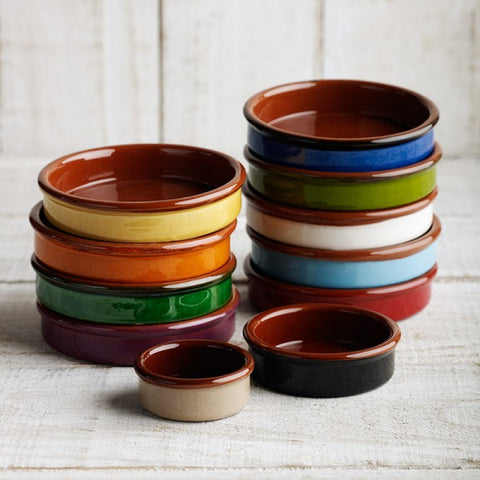 Terracotta Tapas Dishes - 13cm
